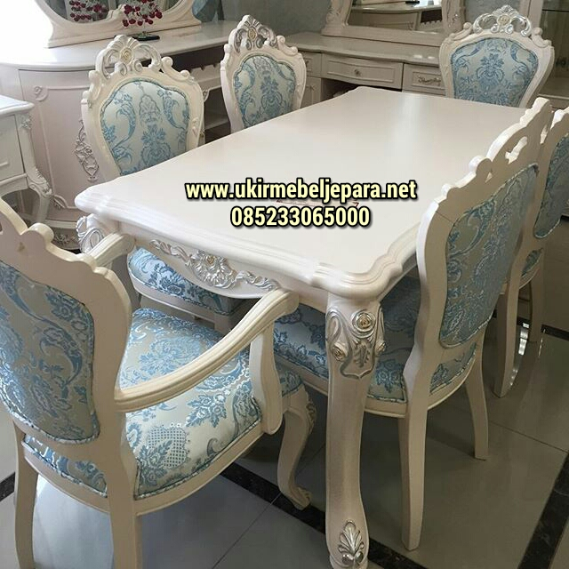 Meja Makan French Duco Classic