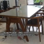 Meja Kursi Minimalis Retro Furniture Cafe