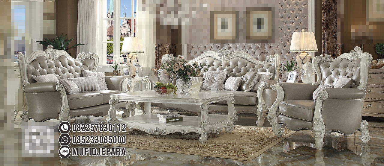 1 Set Sofa Kursi Tamu Mewah Living Room