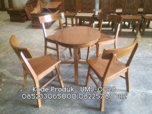 Kursi Meja Cafe Ruang Makan Furniture Resto