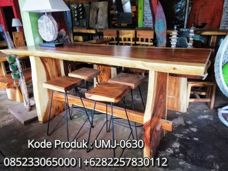Toko Furniture Meja Kursi Cafe Classic Antik Trembesi